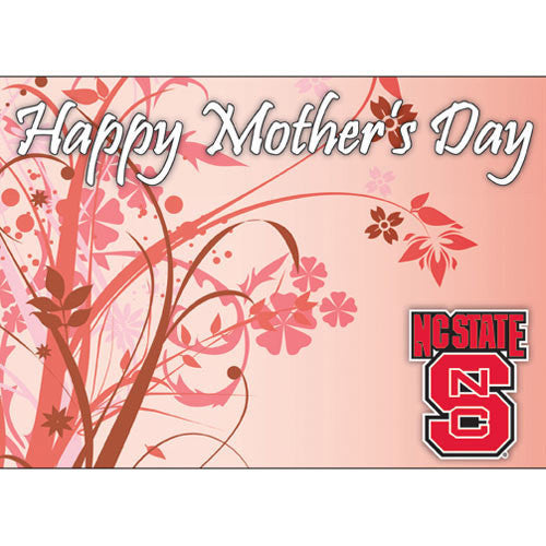 NC State Wolfpack Mother's Day Card