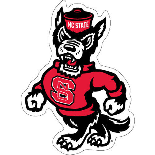 NC State Wolfpack Strutting Wolf Magnet