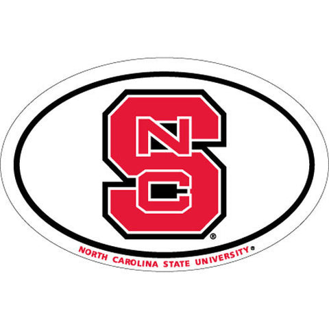 NC State Wolfpack Block S Euro Magnet