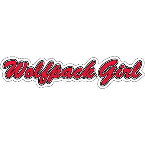NC State Wolfpack Girl Magnet