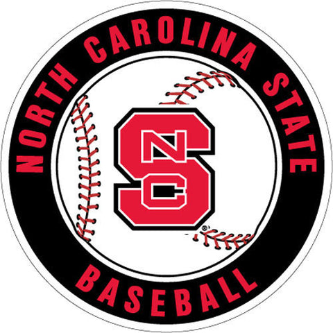 NC State Wolfpack Baseball Magnet
