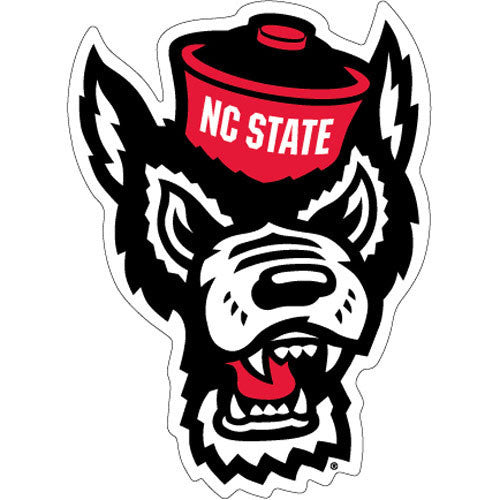 NC State Wolfpack Wolf Head Magnet