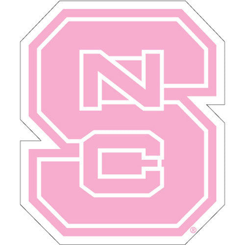 NC State Wolfpack Pink Block S Dizzler