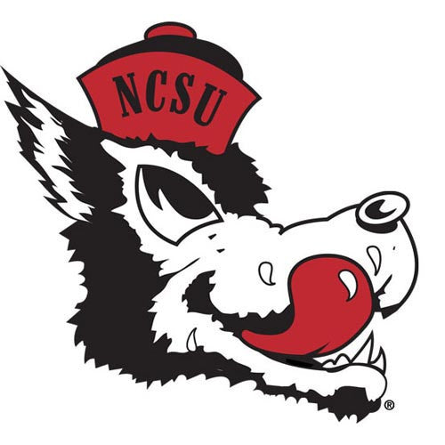 NC State Wolfpack Slobbering Wolf Vault Collection Magnet