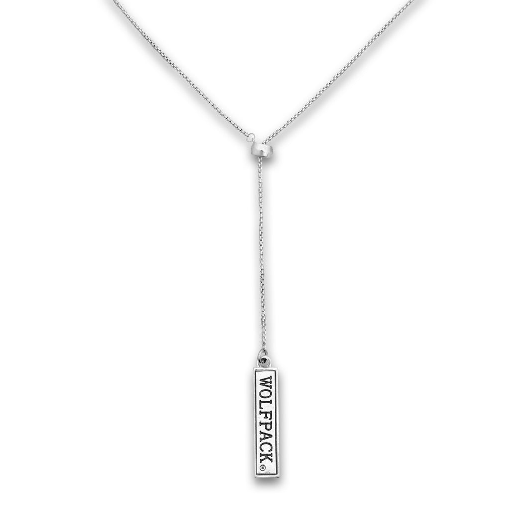 NC State Wolfpack Double Down Necklace