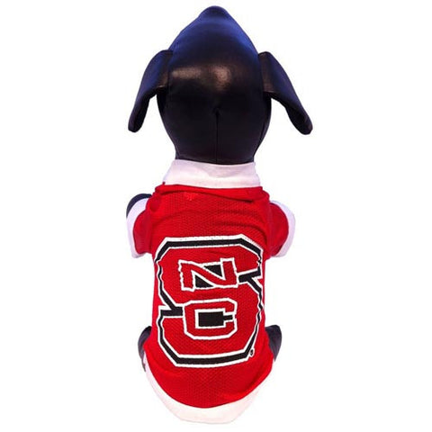 NC State Wolfpack Red Athletic Mesh Dog Jersey