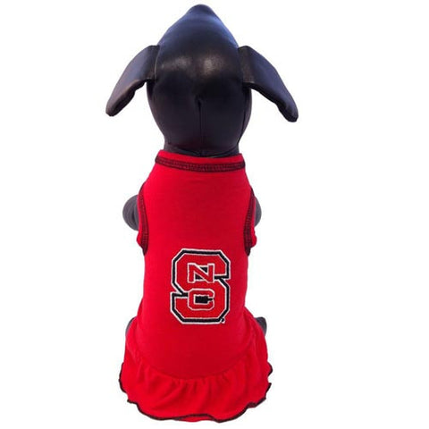 NC State Wolfpack Red Dog Dress