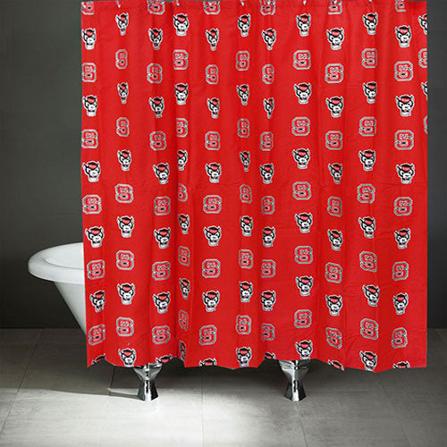 NC State Wolfpack Red Shower Curtain