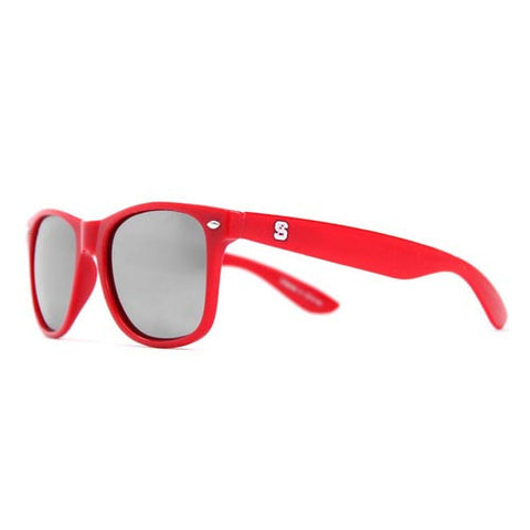 NC State Wolfpack Red Throwback Sunglasses