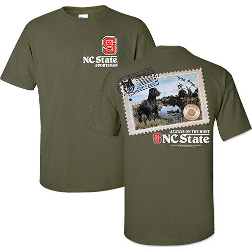 NC State Wolfpack Cypress Sportsman Stamp T-Shirt