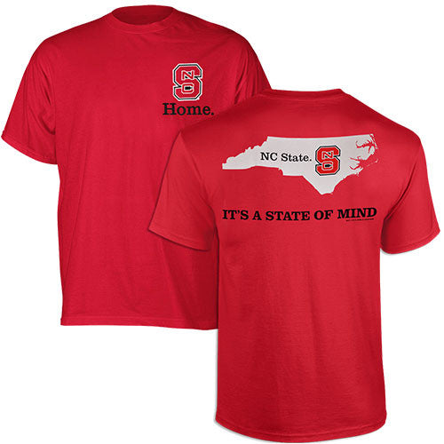 NC State Wolfpack Red State of Mind T-Shirt