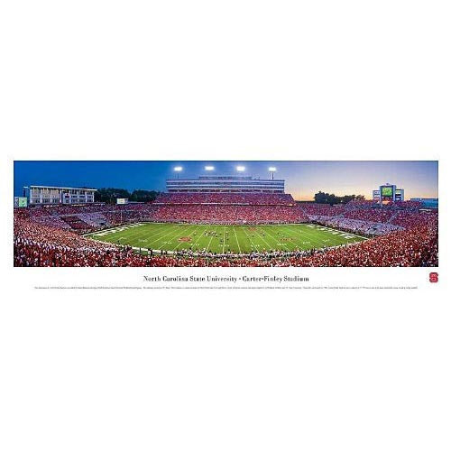 NC State Wolfpack Carter-Finley Stadium Panoramic Print
