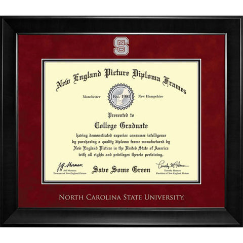 NC State Wolfpack New England Diploma Frame - 7013