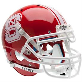 NC State Wolfpack Red Schutt® Replica Full Size Helmet