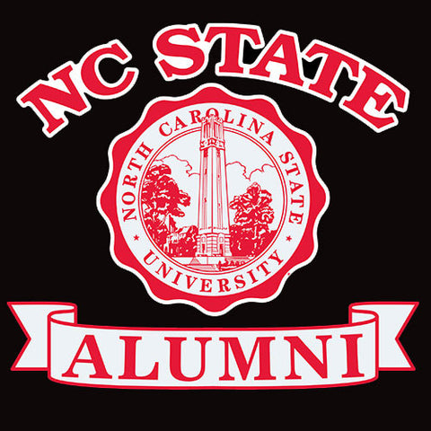 "NC State Wolfpack Alumni w/Seal 6"" Decal"