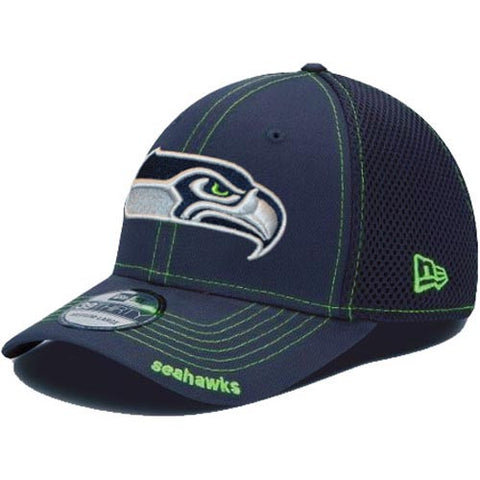 Seattle Seahawks NE Official Jersey Mesh Back Fitted Hat