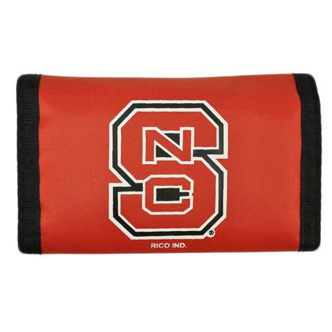 NC State Wolfpack Nylon Velcro Wallet