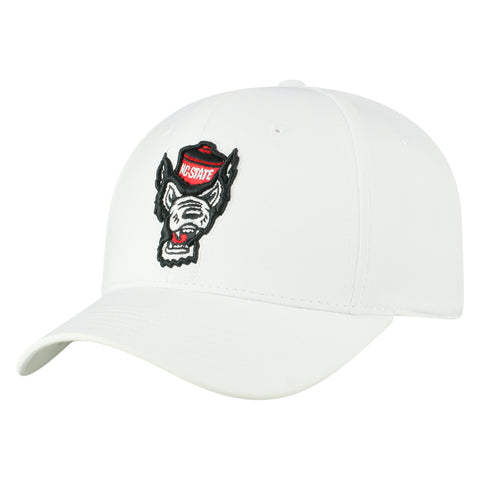 NC State Wolfpack TOW White Phenom Wolfhead One Fit Hat