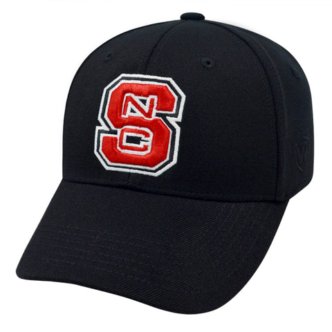 NC State Wolfpack TOW Black Premium Memory Fit Hat