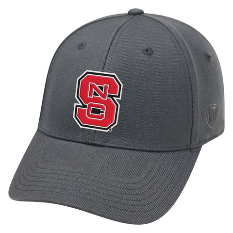 NC State Wolfpack TOW Charcoal Premium Memory Fit Hat