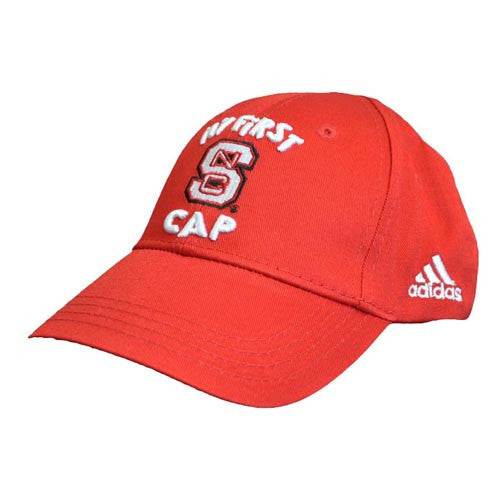 NC State Wolfpack Red Infant Adidas® My First Hat