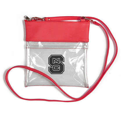 NC State Wolfpack Clear Gameday Crossbody Bag