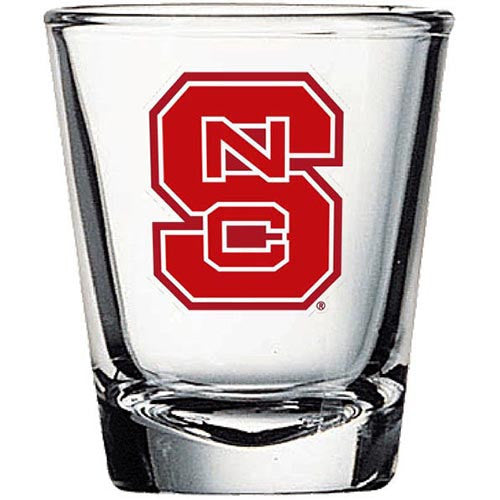 NC State Wolfpack 1.5oz Block S Shot Glass