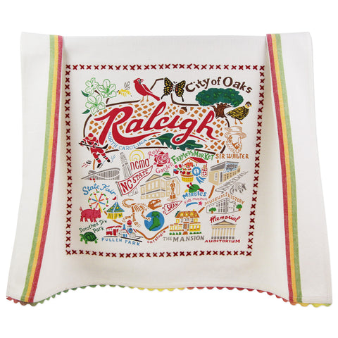 Geographic Raleigh Dish Towel