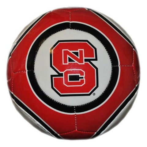 NC State Wolfpack Team Color Size 5 Soccer Ball