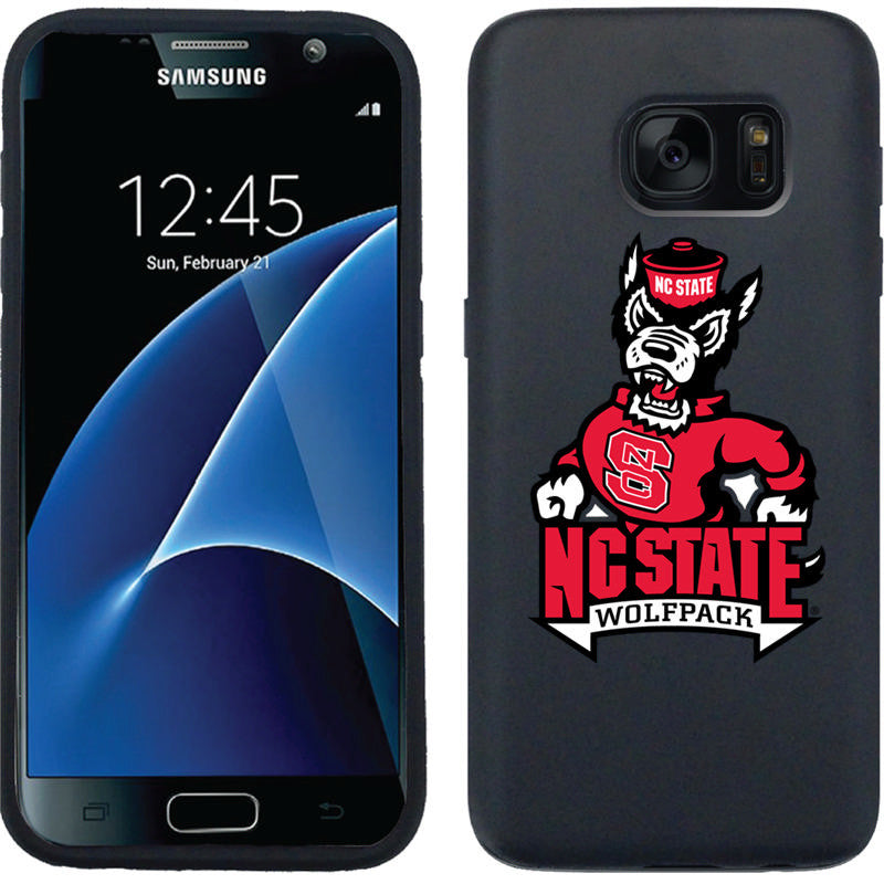 NC State Wolfpack Black Strutting Wolf Galaxy S7 Guardian Case