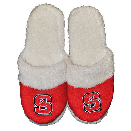 NC State Wolfpack Women's Sherpa Slide Slippers