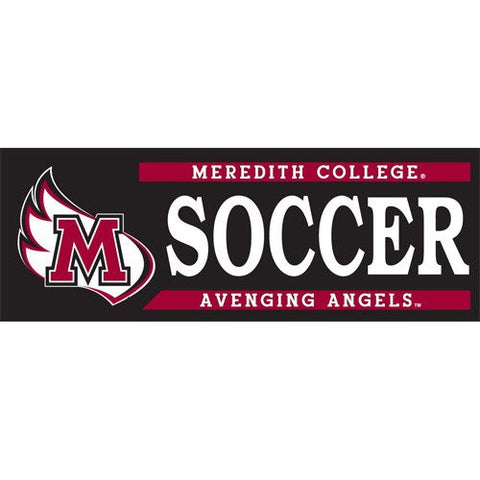 Meredith College Soccer Decal