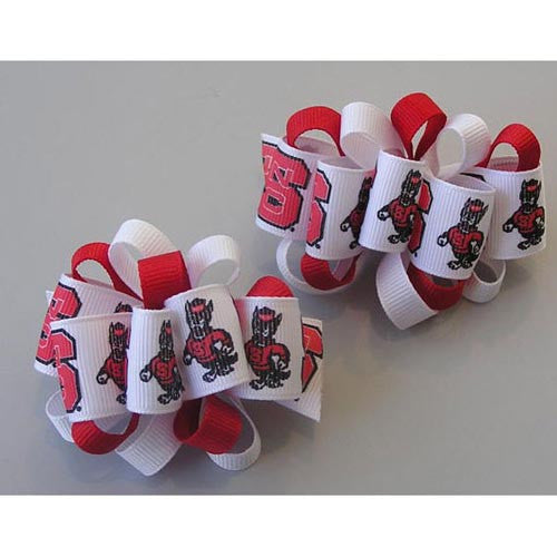 NC State Wolfpack Youth Hair Barrettes