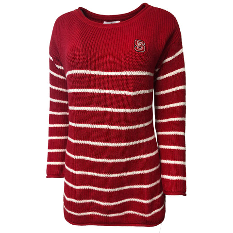 NC State Wolfpack Women's Red Juliette Knit Tunic