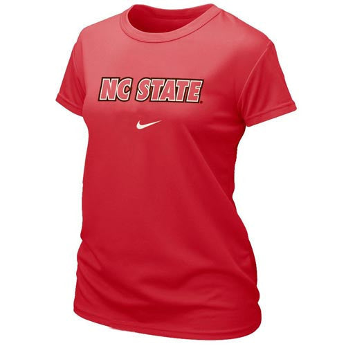 NC State Wolfpack Nike University Red Dri-Fit Women's T-Shirt
