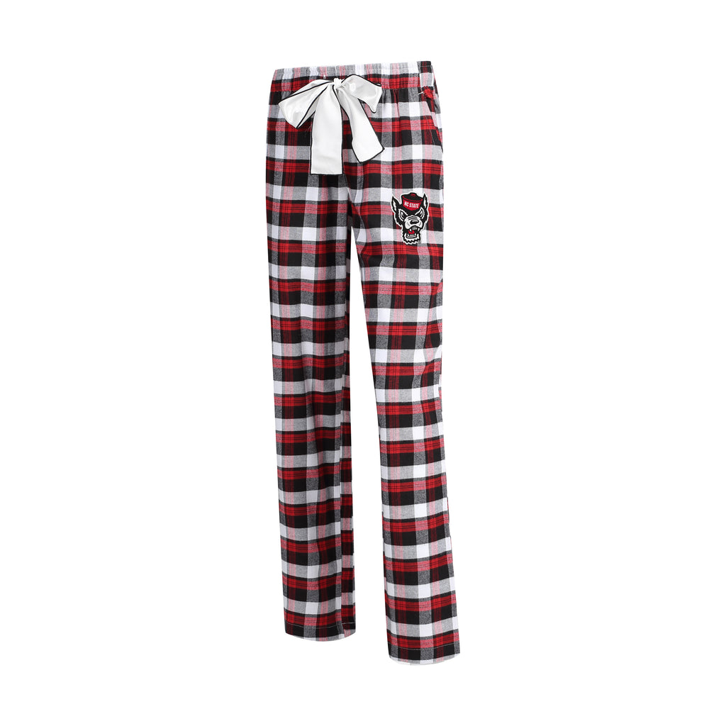 NC State Wolfpack Women's Wolfhead Piedmont Flannel Pant