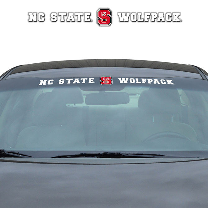 North Carolina State Wolfpack Windshield Decal