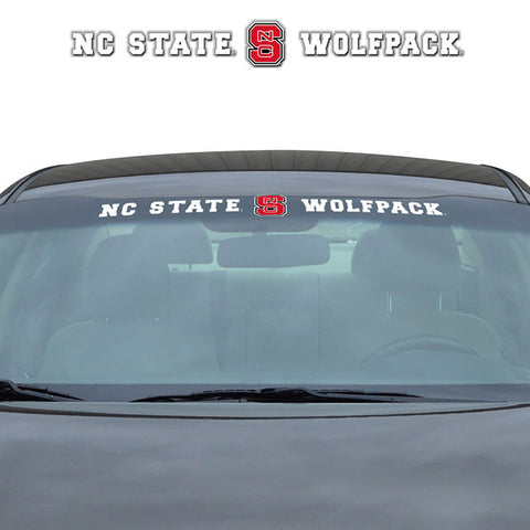 NC State Wolfpack Windshield Decal