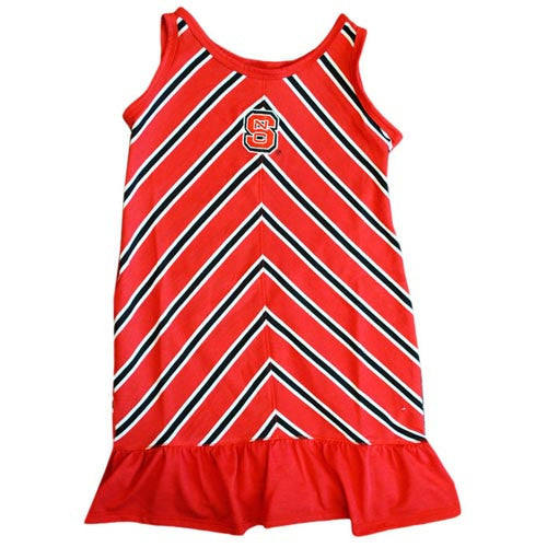 NC State Wolfpack Toddler Catch Dress