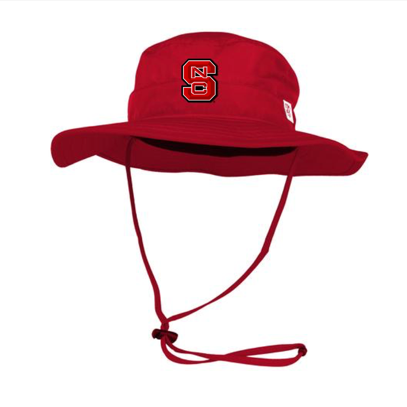NC State Wolfpack All Red Block S Boonie