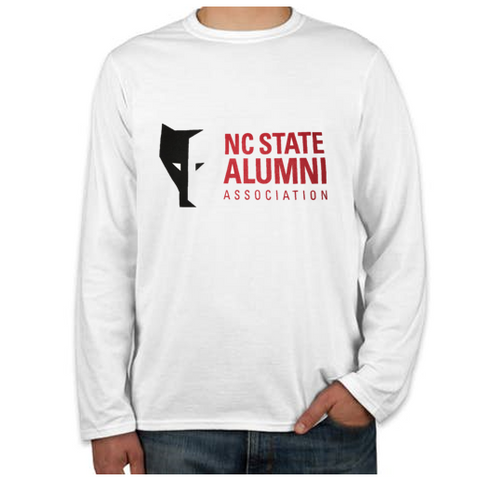 NC State Wolfpack White Alumni Association Howl Back Long Sleeve T-Shirt