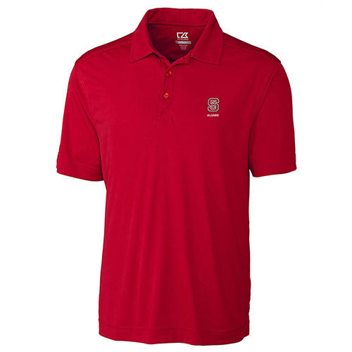 NC State Wolfpack Cutter & Buck Red Northgate Alumni Polo