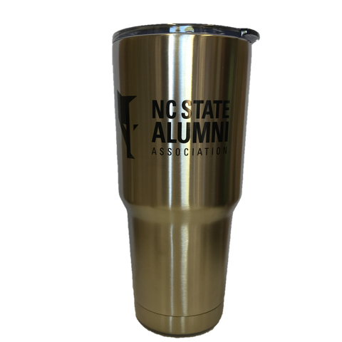 NC State Wolfpack 30oz. Stainless Steel Alumni Association Tumbler