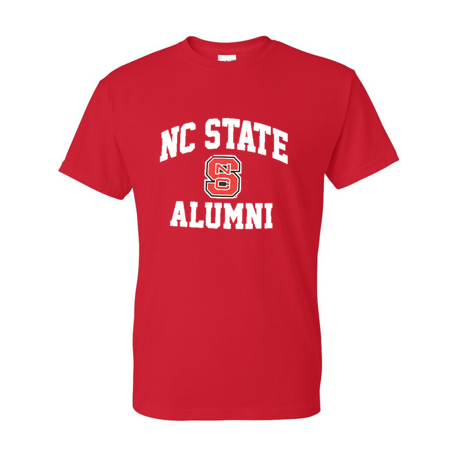 NC State Wolfpack Red Alumni Block S T-Shirt