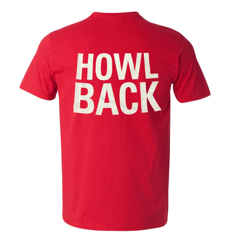 NC State Wolfpack Red Alumni Association Howl Back T-Shirt