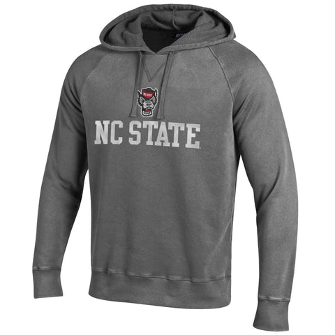 NC State Wolfpack Granite Heather Outta Town Hood