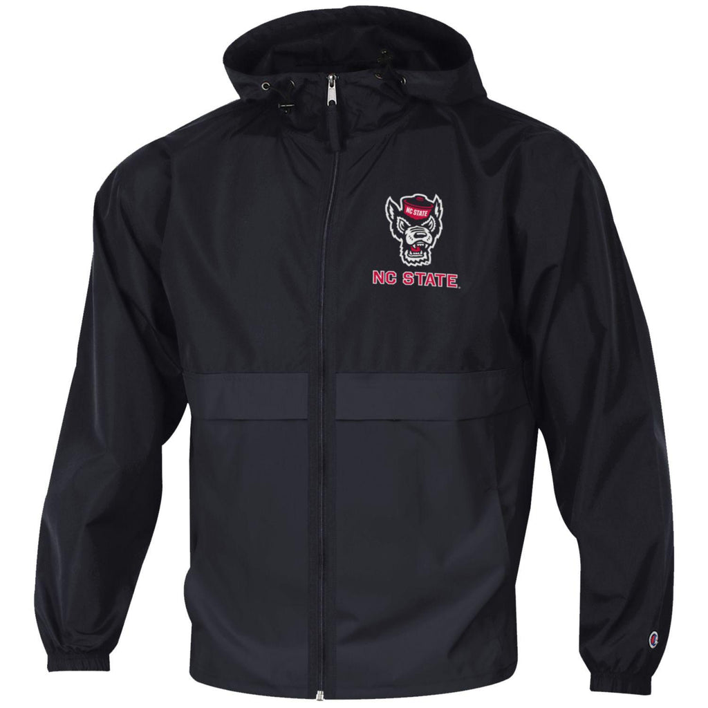 NC State Wolfpack Champion Black Wolfhead Light Weight Full Zip Jacket