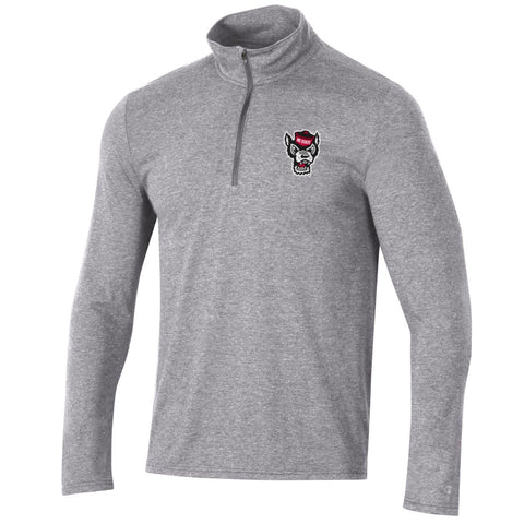 NC State Wolfpack Men's Oxford Heather Field Day 1/4 Zip Jacket