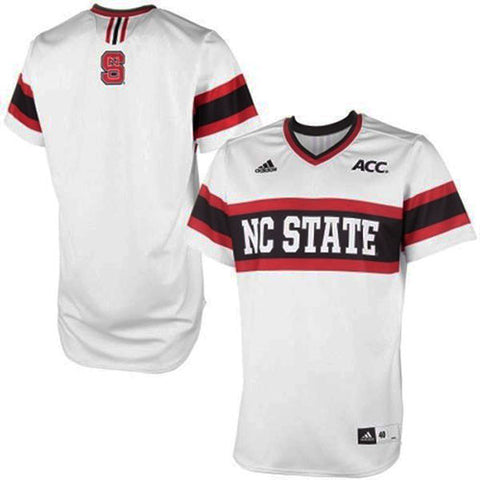 NC State Wolfpack adidas Authentic Baseball Jersey