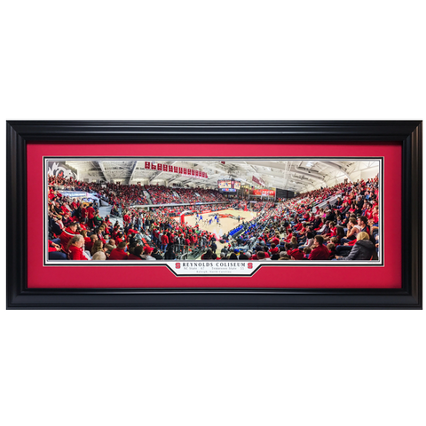 NC State Wolfpack Reynolds Coliseum Panoramic Picture